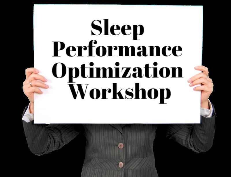 sleep optimization workshop sonnomedica