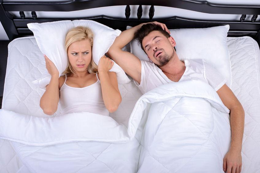 Russamento e apnee nel sonno