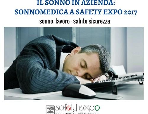 Il sonno in azienda: Sonnomedica a Safety Expo 2017